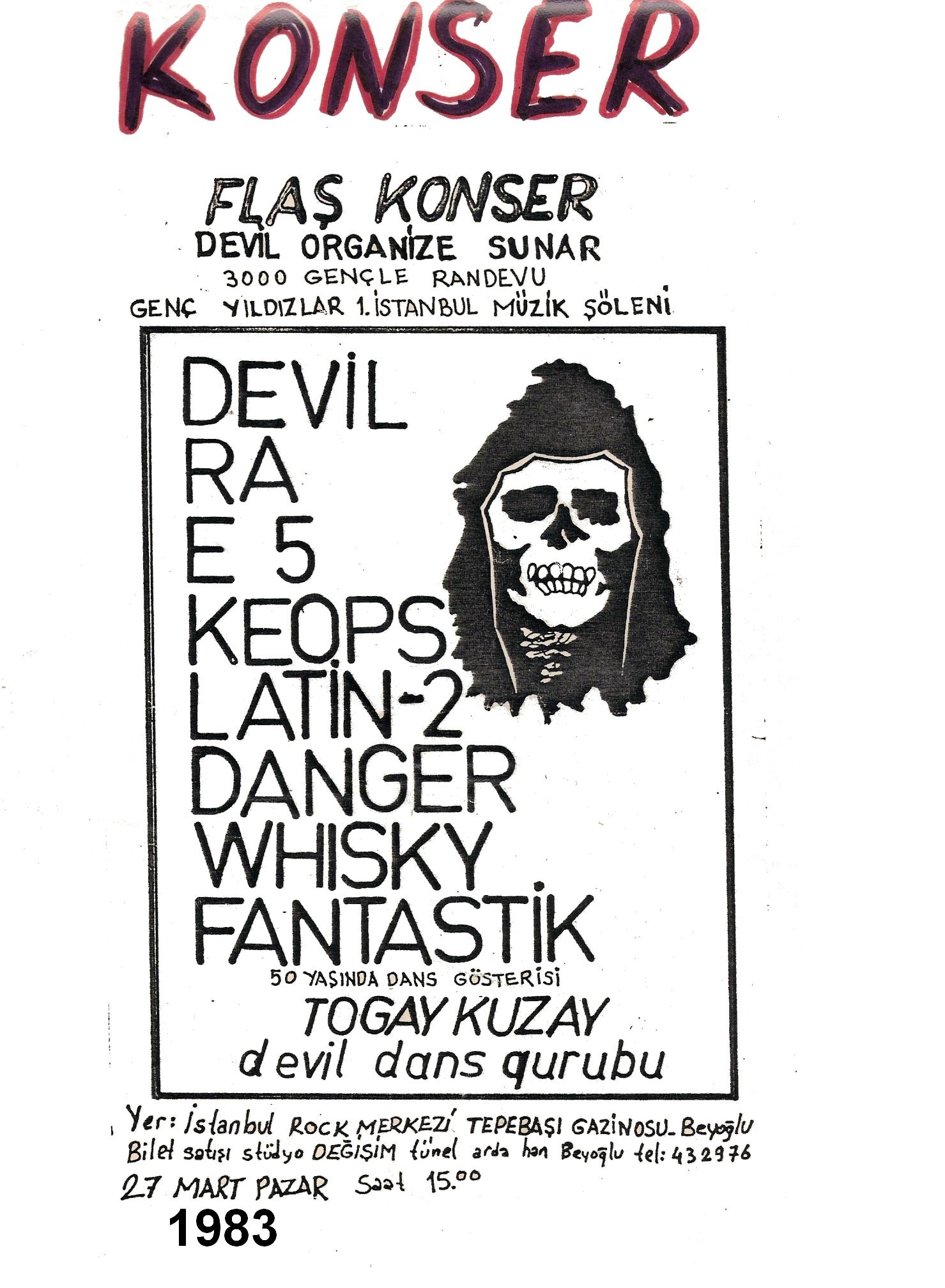 1983-03-27 Devil, Ra, E-5, Keops, Latin-2, Danger, Whisky, Fantastik (2)