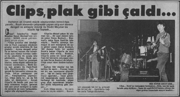 1984-01-25 Gong (Clips)