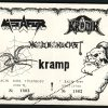 1989-10-07 Kronik, Metafor, Kramp, Headbangers