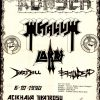 1990-10-06 Metalium, Lords, Hazy Hill, Braindead