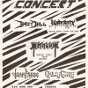 1991-06-08 Hazy Hill, Swazafix, Metalium, Dark Phase, Crimegate