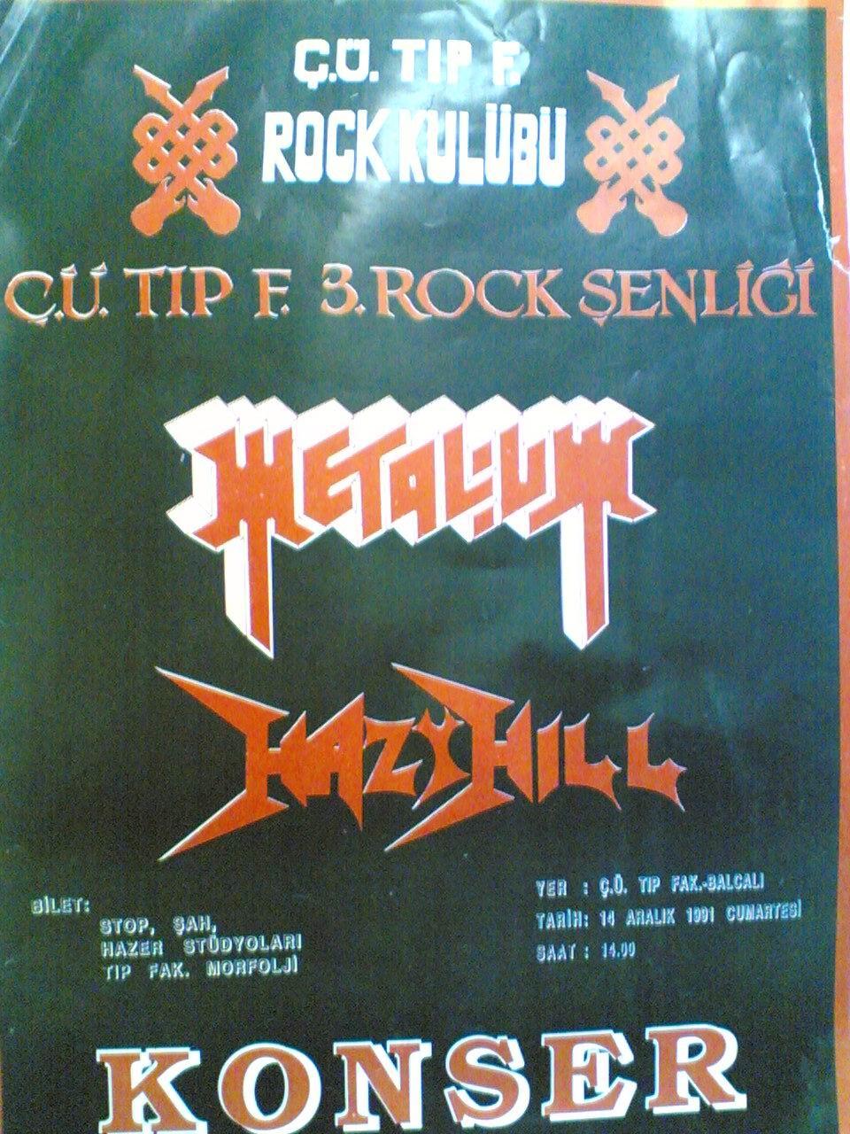 1991-12-14 Metalium, Hazy Hill