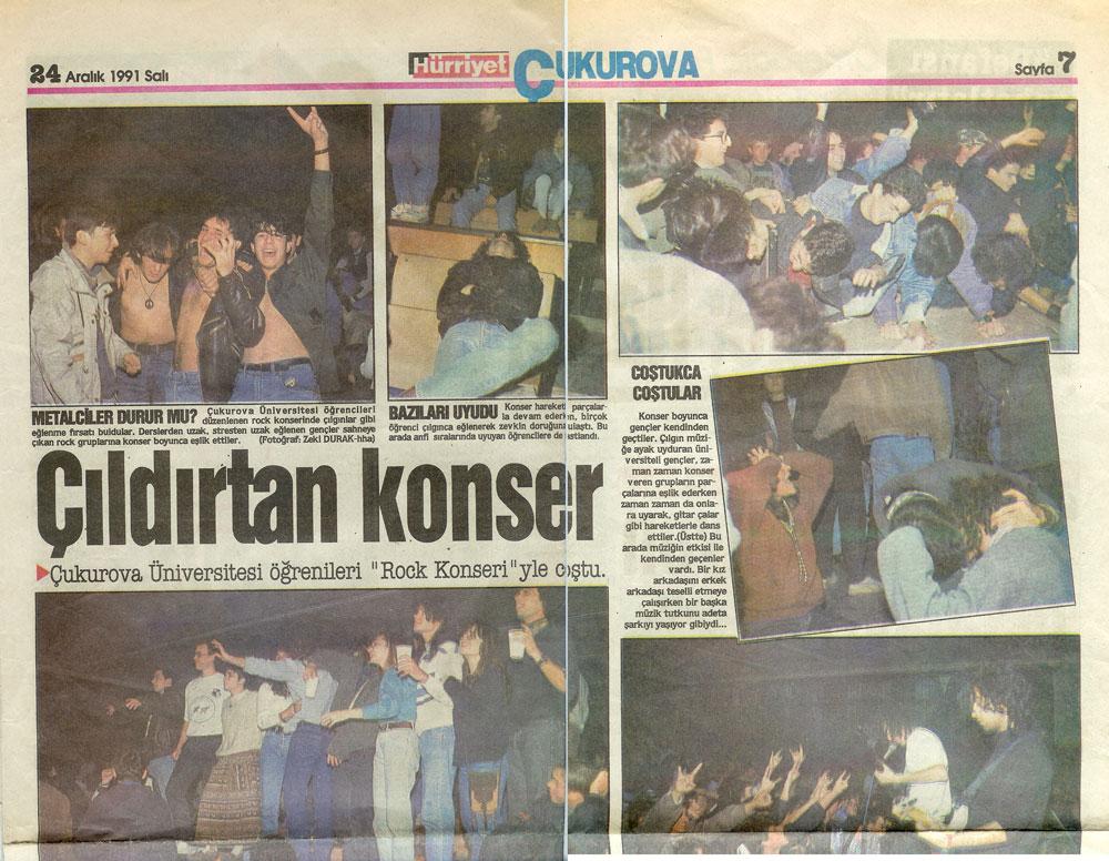 1991-12-24 Hürriyet Çukurova (Metalium, Hazy Hill)